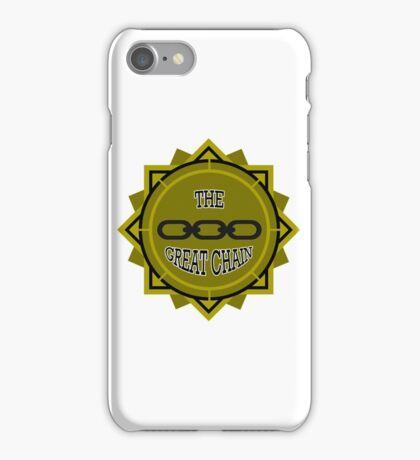 Pull The Great Chain! iPhone Case/Skin