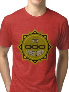 Pull The Great Chain! Tri-blend T-Shirt