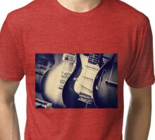 Guitars Tri-blend T-Shirt