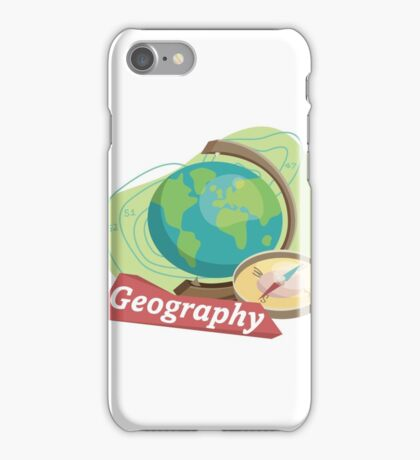 Geography iPhone Case/Skin