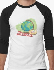 Geography Men's Baseball ¾ T-Shirt