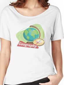 Geography Women's Relaxed Fit T-Shirt