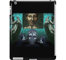 Weeping angels stained glass iPad Case/Skin
