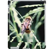 Restful Bee iPad Case/Skin