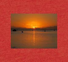 Aitutaki Sunset - Cook Islands Tri-blend T-Shirt