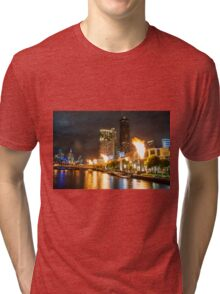 Casino Flames Tri-blend T-Shirt