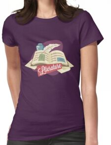 Literature Womens Fitted T-Shirt