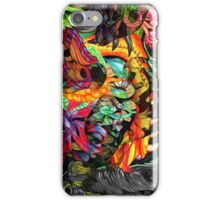 Just another day in the jungle iPhone Case/Skin