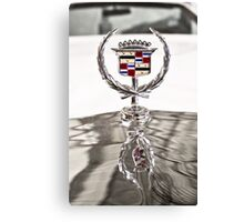 Cadillac emblem Canvas Print