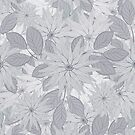 Floral Seamless Colored Pattern by Olga Altunina