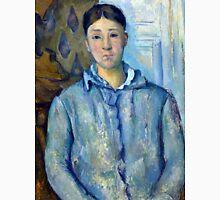 1890 - Paul Cezanne - Madame Cézanne in Blue Unisex T-Shirt