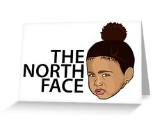 North West - Kim Kardashian Greeting Card