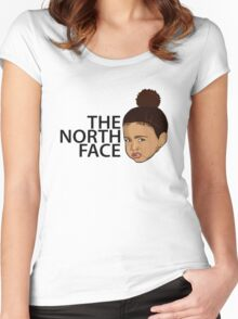 North West - Kim Kardashian Women's Fitted Scoop T-Shirt