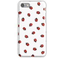 Ladybug Ladybird Vintage Kitsch Print iPhone Case/Skin