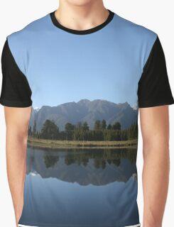 Lake Matheson - New Zealand Graphic T-Shirt