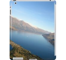 Queenstown from the air - New Zealand iPad Case/Skin