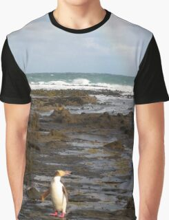 Yellow-eyed Penguin Graphic T-Shirt