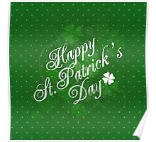 Saint Patrick's Day Background Poster