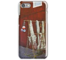 Hung Out To Dry! iPhone Case/Skin