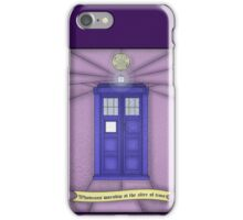 Whovian stained glass iPhone Case/Skin