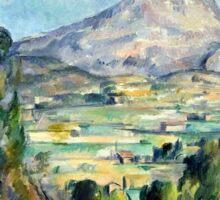 1890 - Paul Cezanne - Montagne Saint-Victoire Sticker
