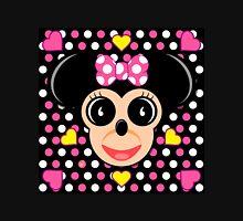 Polka Dot Girly Mouse Unisex T-Shirt