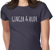 ginger & rude Womens Fitted T-Shirt