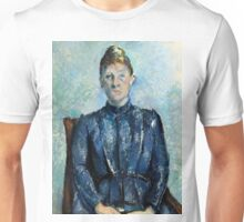 1890 - Paul Cezanne - Portrait of Madame Cézanne Unisex T-Shirt