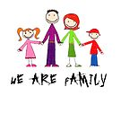 We are Family by Catherine Hamilton-Veal  ©