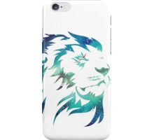 Space Lion iPhone Case/Skin