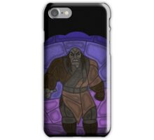 Warlord - stained glass villains iPhone Case/Skin