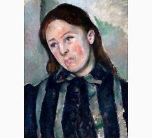 1890 - Paul Cezanne - Portrait of Madame Cézanne2 Unisex T-Shirt