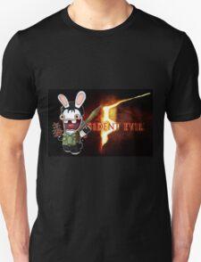 Raving Rabbid Chris Redfield Unisex T-Shirt