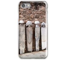 Old Muslim Tombstones In A Cyprus Fort iPhone Case/Skin