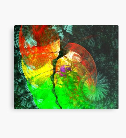 A Colorful Love Metal Print