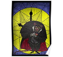 Steal the crown jewels - stained glass villains Poster