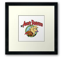 fear Angry Beavers Framed Print