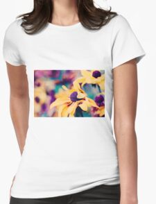 mellow yellow Womens Fitted T-Shirt