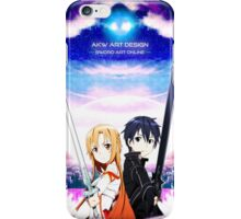 《Beater x Flash》 Sword Art Online || Kirito x Asuna iPhone Case/Skin