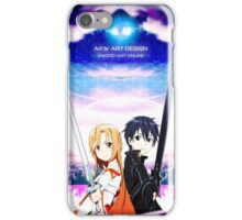 《Beater x Flash》 Sword Art Online || Kirito x Asuna iPhone Case/Skin