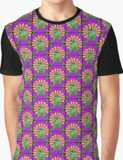 Sackcloth and bugs - stained glass villains Graphic T-Shirt