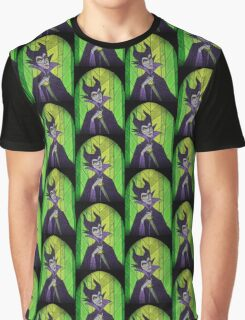 Evil fairy?! - stained glass villains Graphic T-Shirt