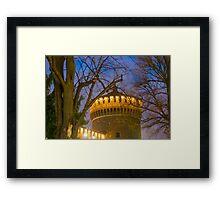 Sforza castle Framed Print