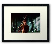 The legend of Zelda: Link to the battle Framed Print