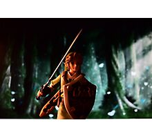 The legend of Zelda: Link to the battle Photographic Print
