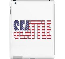Seattle. iPad Case/Skin