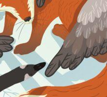 Smirre Fox Sticker
