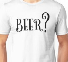 Party Beer Drink Retro Queston T-Shirts Unisex T-Shirt