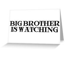 Big Brother Anonymous Riot Greeting Card