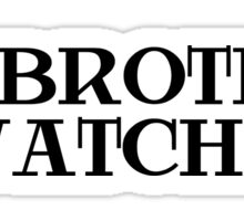 Big Brother Anonymous Riot Sticker